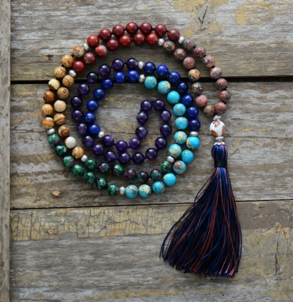 Natural Stone Chakra Necklace