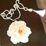 Stunning Natural Stone Meditation Yoga Necklace