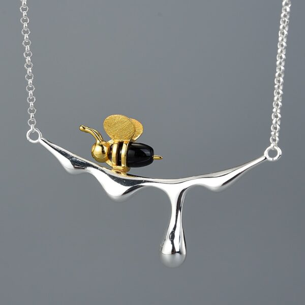 bee and honey necklace