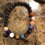Natural Stone Planet Bracelet
