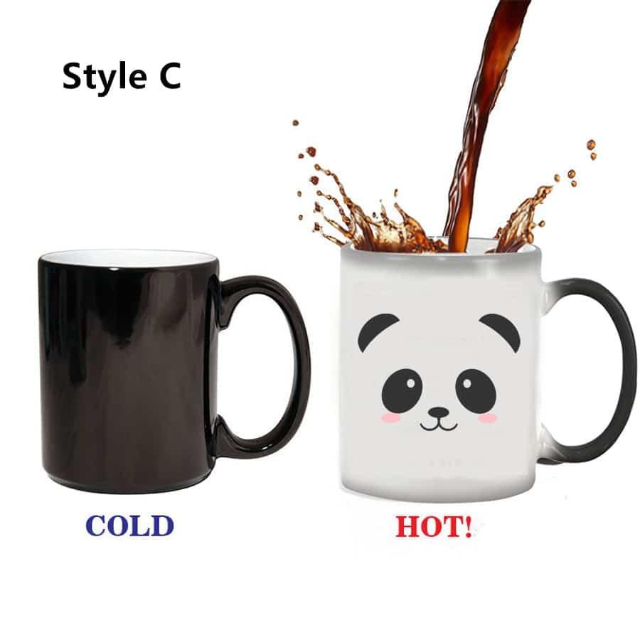color changing panda mug