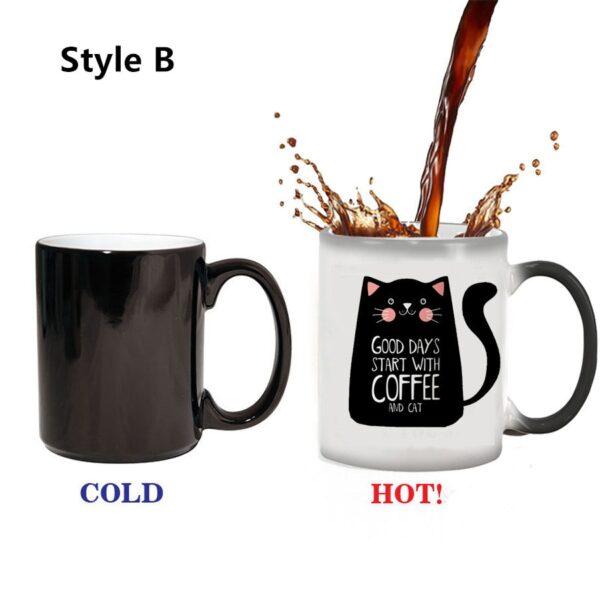color changing cat mug