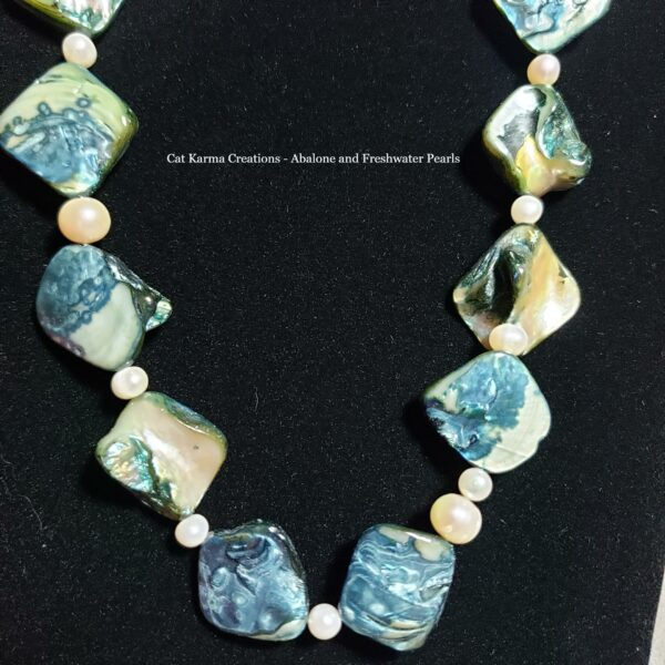 abalone and pearls