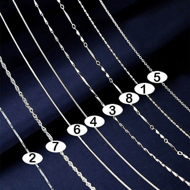 Sterling Silver Necklace Chains