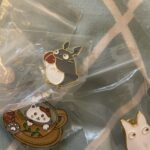 Cup Cat Enamel Pins